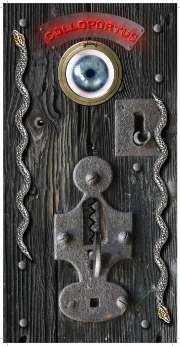 deurhanger promotiemateriaal Harry Potter