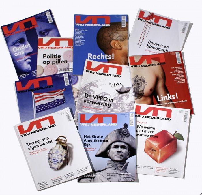 coverbeeld Vrij Nederland