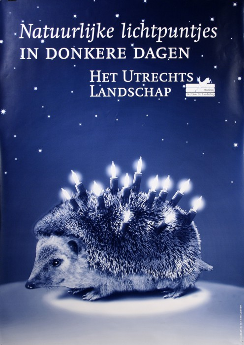Affiche campagne voor het Utrechts Landschap