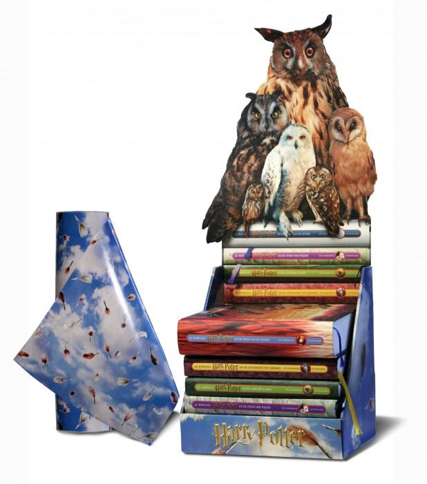 display en pakpapier Harry Potter serie