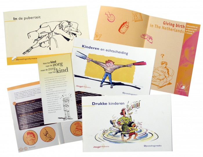 folders opvoeding en gezondheid-Jeugdzorg