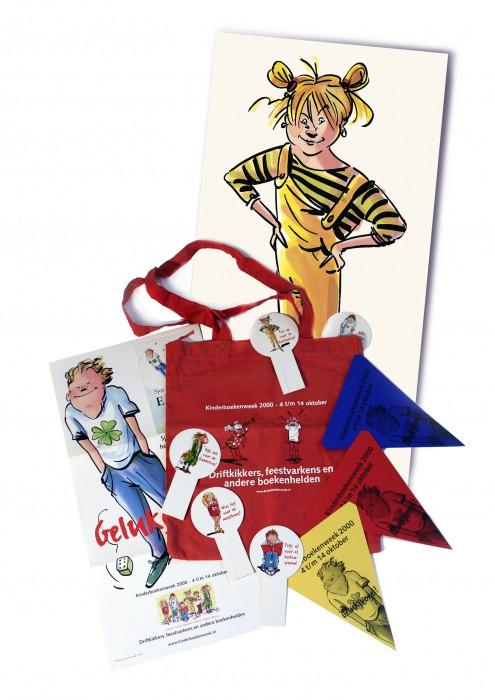 promotie materaal voor de kinderboekenweek