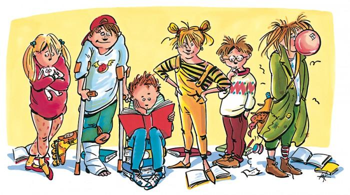 Affiche campagne kinderboekenweek 2000