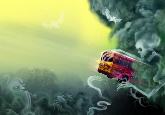 De Griezelbus deel 4