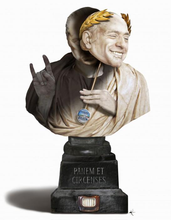 De Volkskrant - Berlusconi brood en spelen