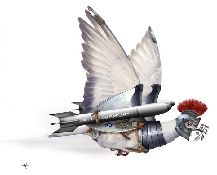 De Volkskrant - Vredesduif