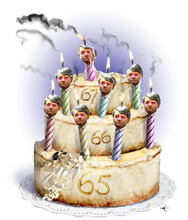 De Volkskrant - Donner's taart